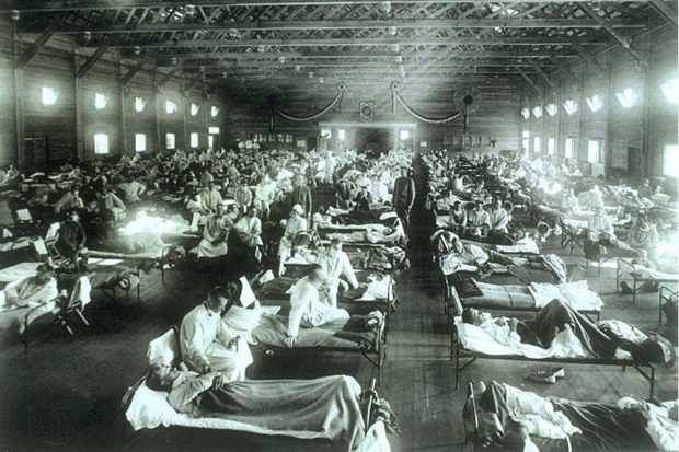 Die Spanische Grippe 1918. Ein weltweites Sterben in drei Wellen. Foto: courtesy of the National Museum of Health and Medicine, Armed Forces Institute of Pathology, Washington, D.C., United States