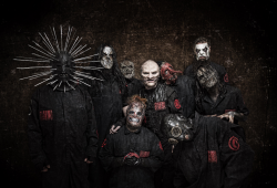 Slipknot 2018. Credit: Paul Harries