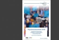 Populismusbarometer 2018. Cover: Bertelsmann Stiftung